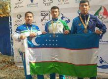Первые медали слаломистов Узбекистана на ЧА