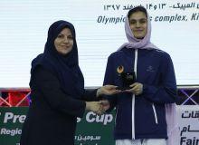 Таэквондистка Узбекистана была признана лучшей спортсменкой международного турнира в Иране