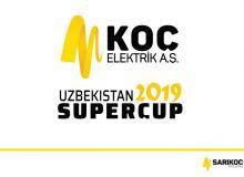 Туркиянинг KOC компанияси Ўзбекистон Суперкубоги-2019 бош ҳомийси бўлади