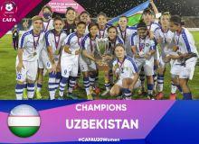 Молодёжная женская сборная Узбекистана – победитель