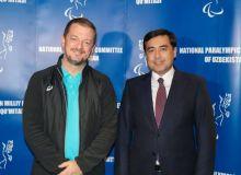 Президент Международного Паралимпийского комитета Эндрю Парсонс прибыл в Узбекистан