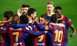 """""""Барселона"""" Испания кубогида ҳеч бир жамоа қайд этмаган натижага эришди"""