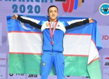Оғабек Нафасов: Ўзбекистон учун чемпионатдаги илк медални олиб берганимдан хурсандман