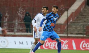 Vadim Abramov's Bunyodkor down Mash'al to lead Uzbek League table