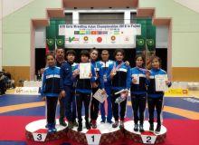 Uzbekistan's wrestlers gain 5 medals in the U15 Girls Wrestling Asian Championship 2018