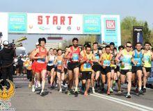 28 мамлакат вакиллари иштирокидаги Тошкент халқаро ярим марафони ўтказилди