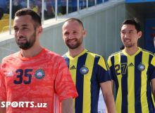 Photo Gallery. FC Pakhtakor's new players introduction