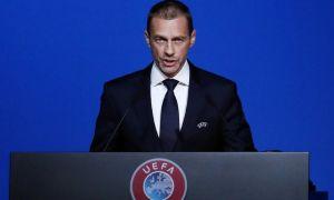 Стремление и решительность Президента УЕФА.