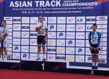 Velotrek bo'yicha Osiyo chempionatida oltin medal oldik