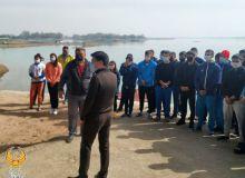 Руководители НОК ознакомились с условиями тренировочной базы гребцов
