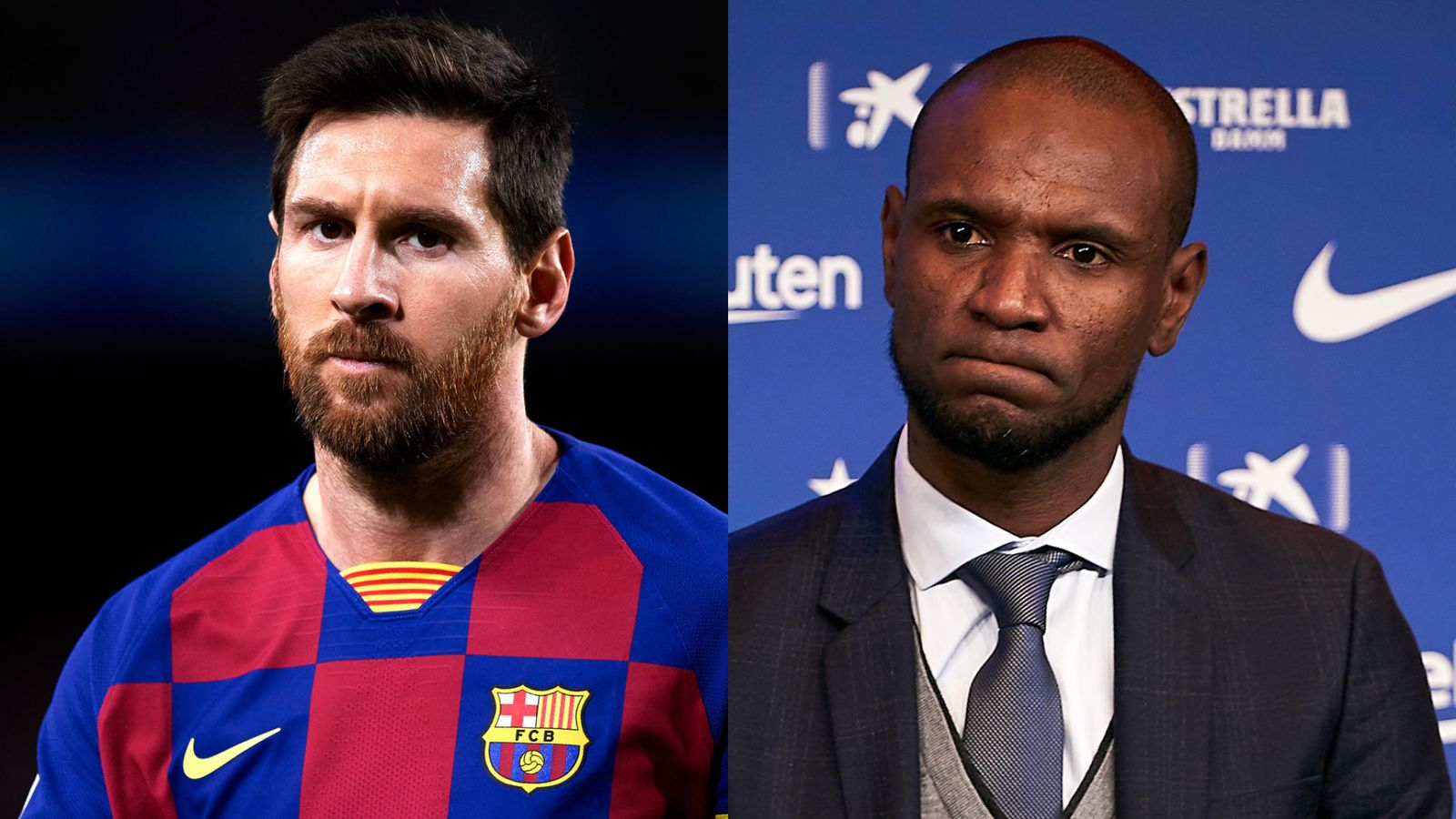 Messi and Abidal