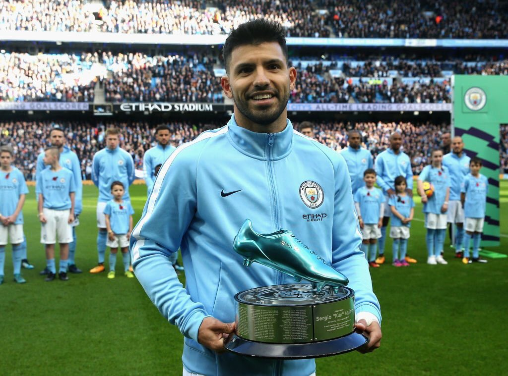 sergio-aguero-goal-king-honoured-blue-boot