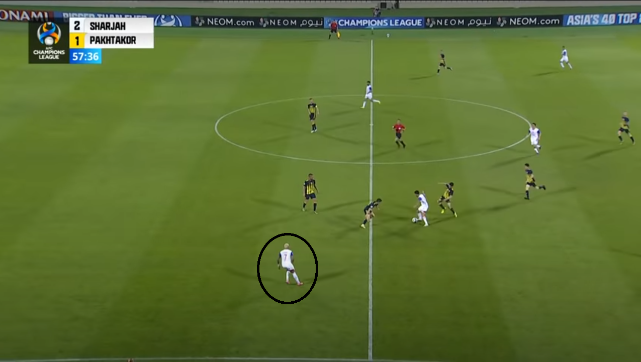 Paxta- sharja 2 3 gol