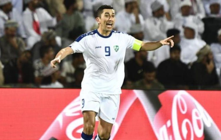 Футтбол Одил Ахмедов Узбекистан
