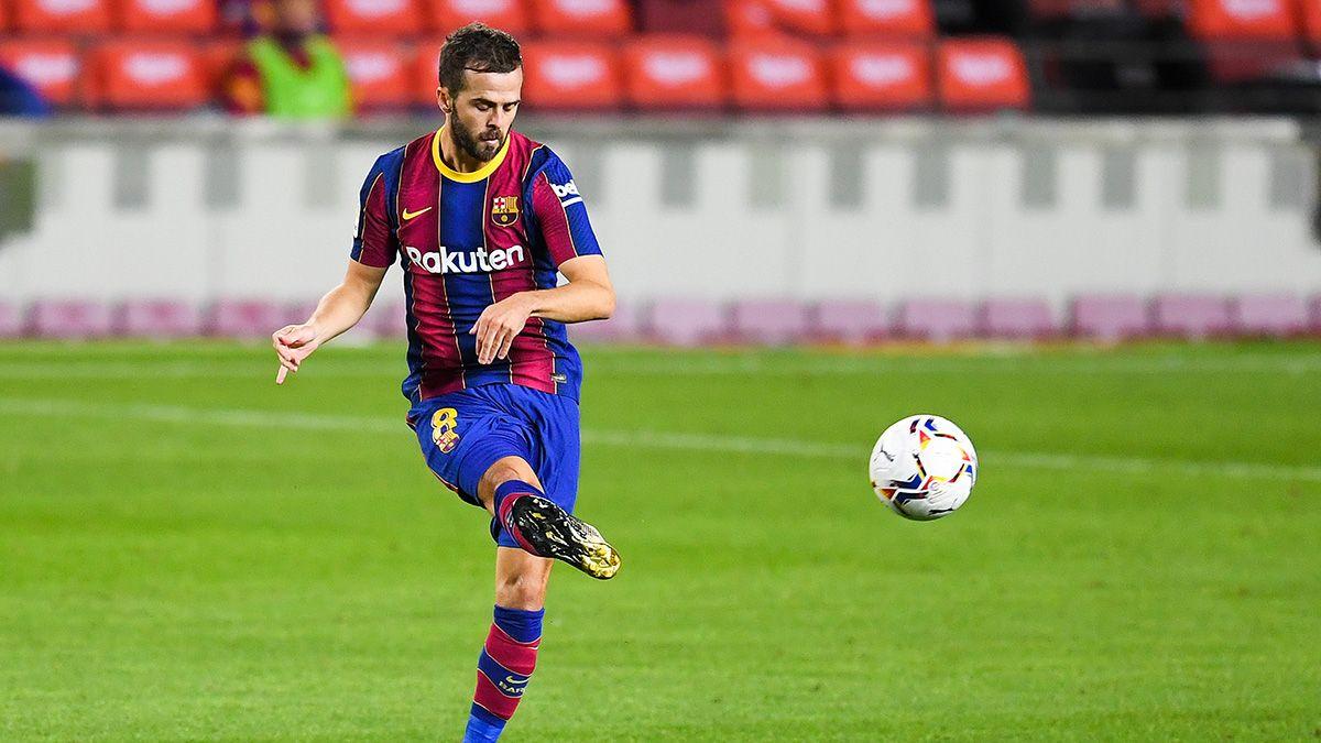 miralem-pjanic-durante-un-partido-del-fc-barcelona