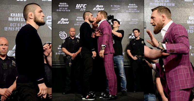 Habib vs Conor press