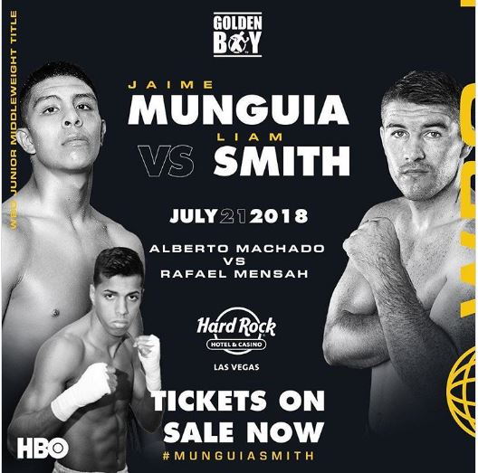 Mungiua vs Smith