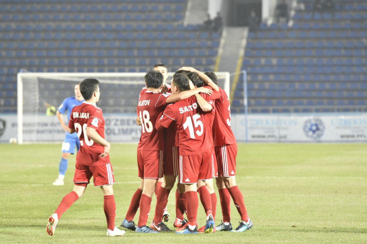 FC Nasaf shock FC Sogdiyona with a stunning 3-0 victory