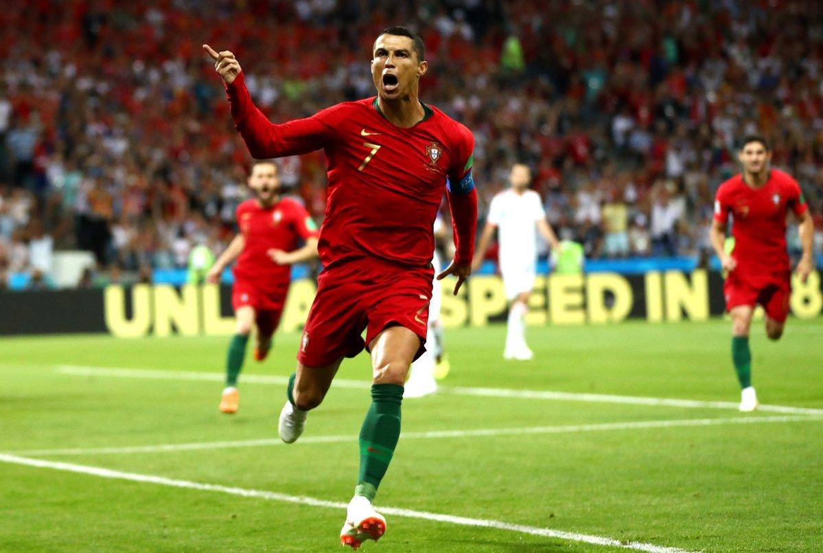 ronaldu portugal goal